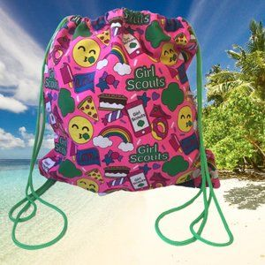 Girl Scouts Canvas String Backpack